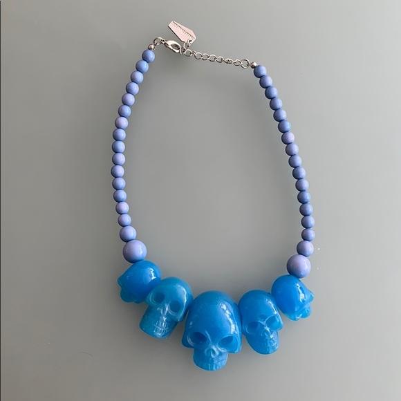 Kreepsville Glow In the Dark Skull Necklace